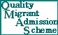 Quality Migrant Admission Scheme